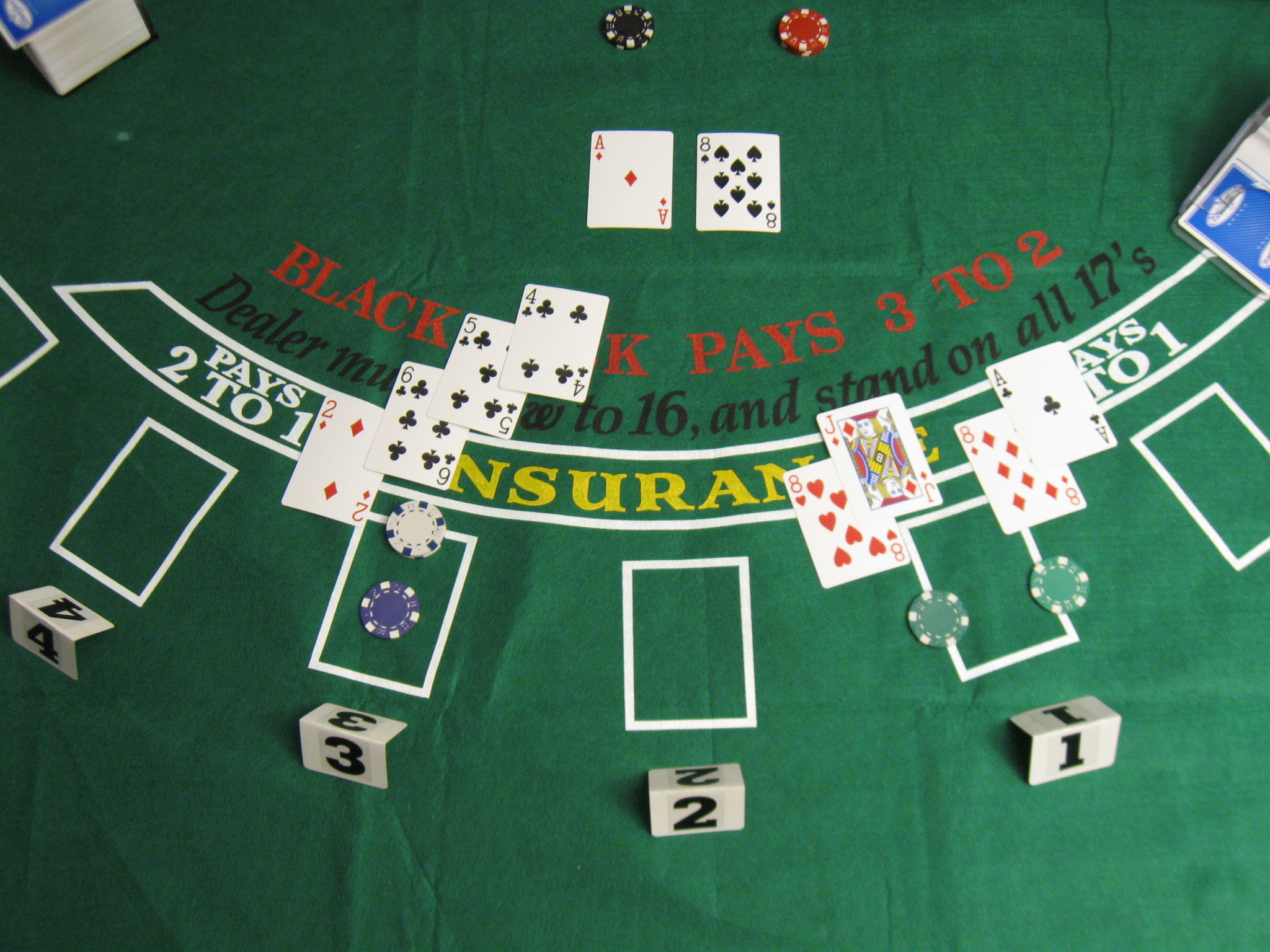 Blackjack game 3