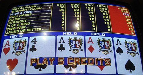 reglas video poker