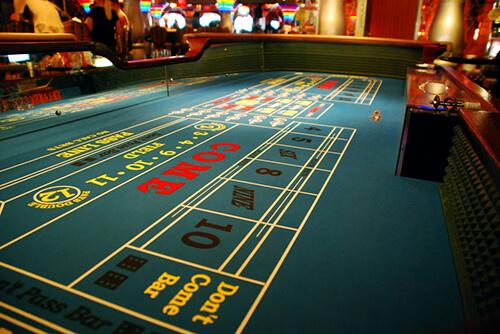 sistema casino craps