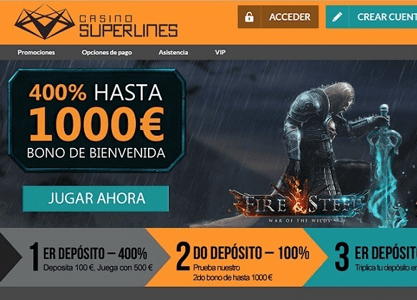 casino superlines analisis