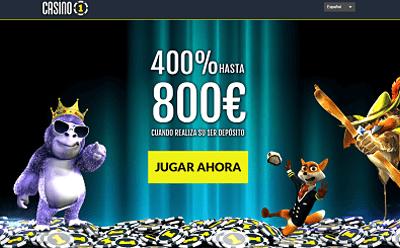Casino1 bono 800