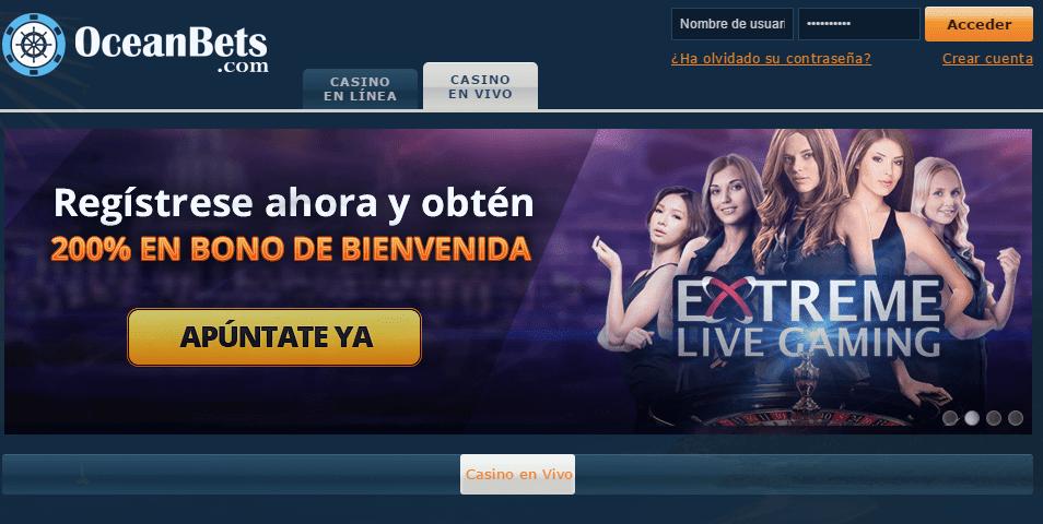 Oceanbets Casino-promociones