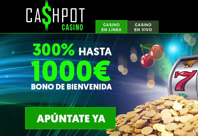 cashpot casino bono