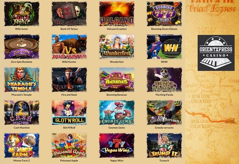 orientxpress casino juegos