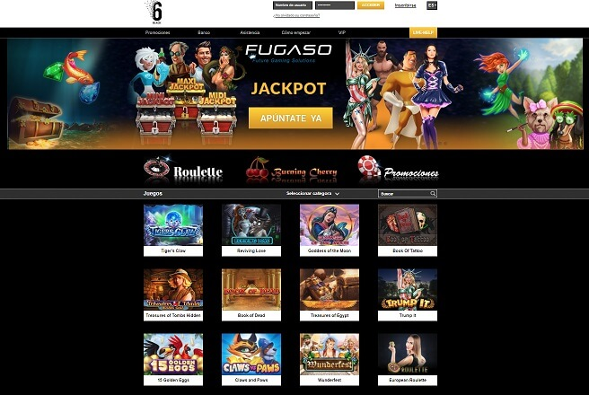 6black casino online
