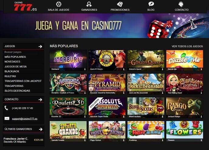 casino777 juegos tragaperras
