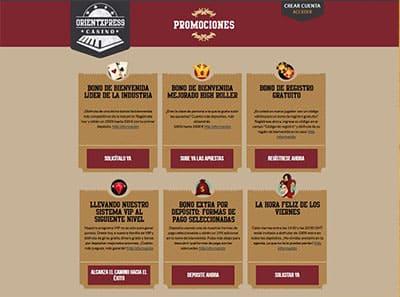 orientxpress casino promociones