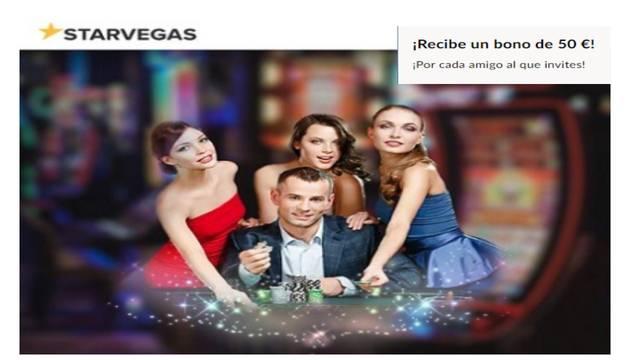 Bono por traer un amigo a Casino Starvegas
