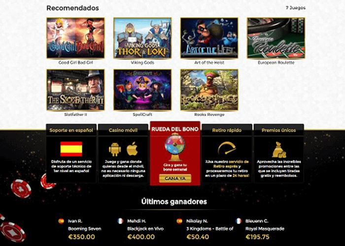 casino unique juegos
