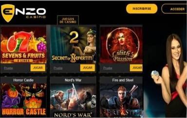 Enzo Casino Giros Gratis hasta por 100 euros