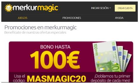 Merkurgmagic bono de hasta 100 euros