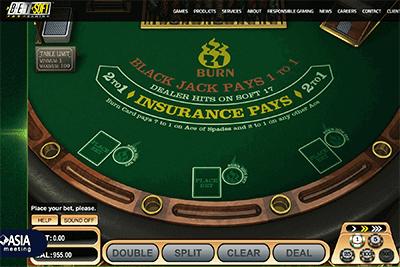 21 Burn Blackjack 1