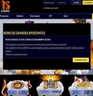 Bono para ingresos superiores a 500 euros hasta por un 25%