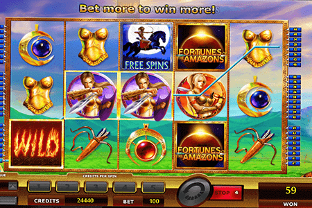 slot fortunes of the amazons