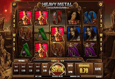 slot heavy metal warriors