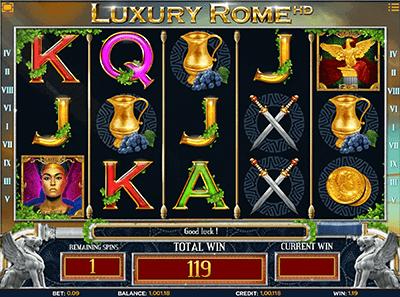 slot luxury rome