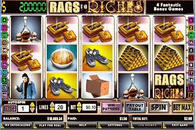 slot rags riches