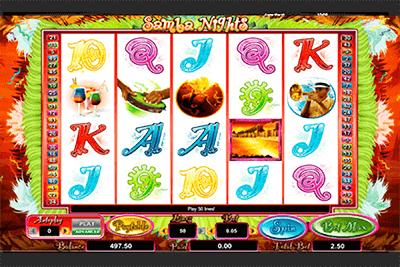 slot samba nights
