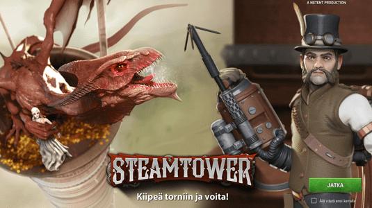 slot steam tower