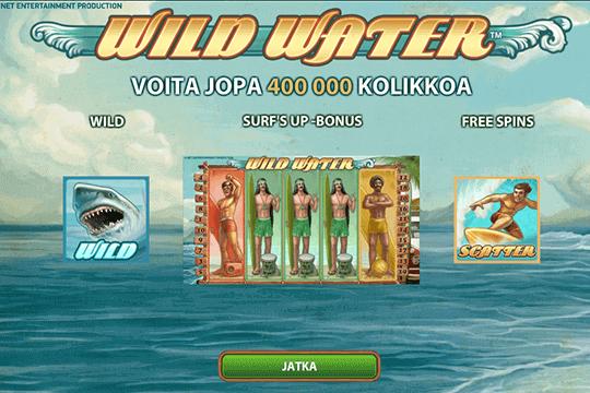 slot wild water