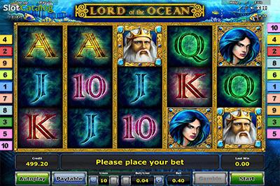 tragaperras Lord of the Ocean