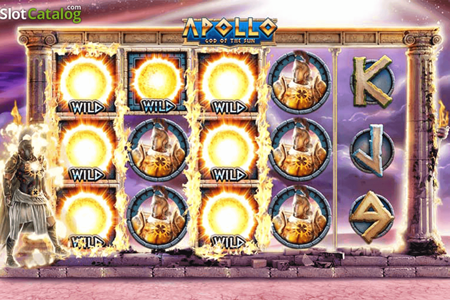 tragaperras apollo god of the sun