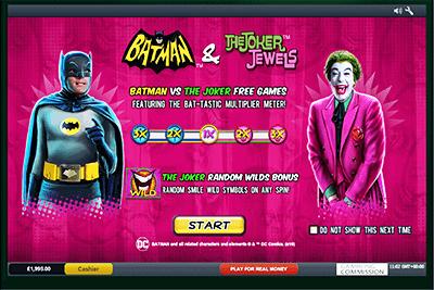 tragaperras batman and joker