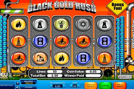 tragaperras black gold rush