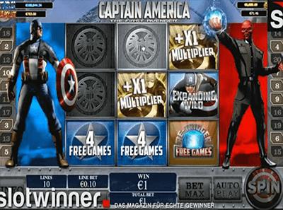 tragaperras capitan america first avenger