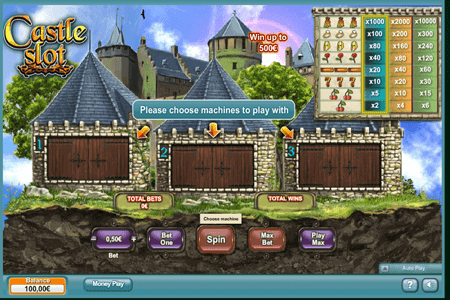 tragaperras castle slot
