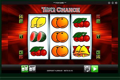 tragaperras double triple chance