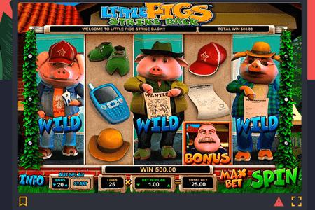 tragaperras little pigs strike back