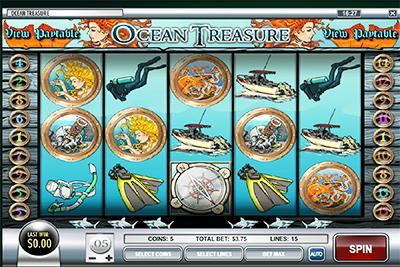 tragaperras oceans treasure