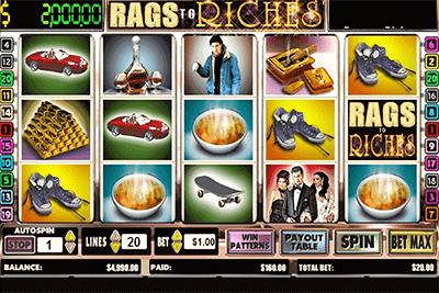 tragaperras rags riches