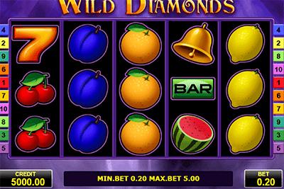 tragaperras wild diamonds