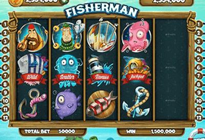 tragaperras Fisherman