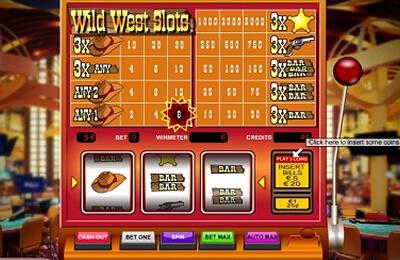 Wild West Slots tragamonedas