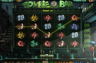 Zombie Bar tragamonedas