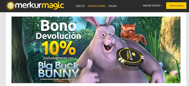 merkurmagic Big Buck Bunny