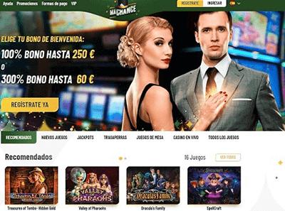 machance casino analisis