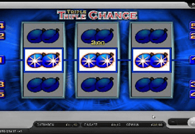 slot triple triple chance