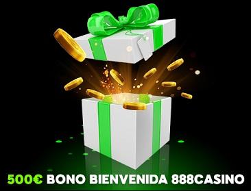 888 bono bienvenida 500