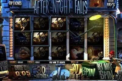 After Night Falls tragamonedas