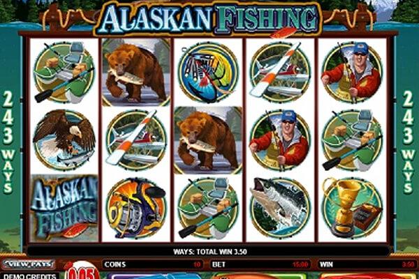 Alaskan Fishing tragamonedas