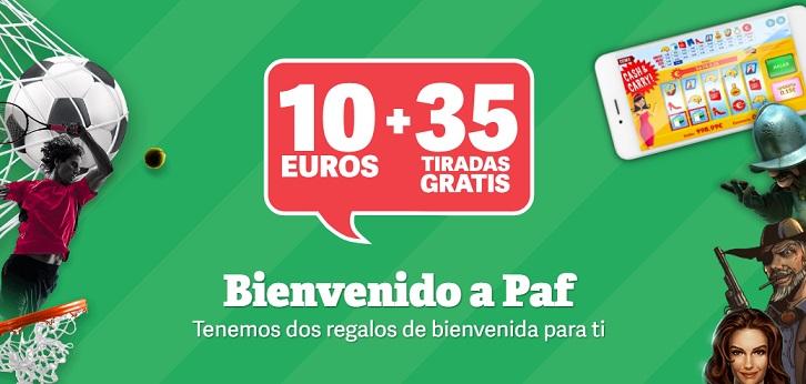 paf 10 euros 35 tiradas