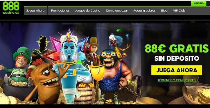 88€ gratis 888casino