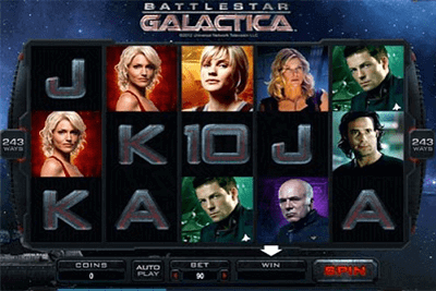 Battlestar Galactica tragamonedas