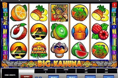 Big Kahuna tragamonedas