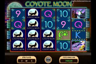 tragaperras Coyote Moon