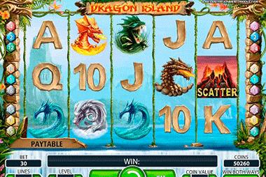 Dragon Island tragamonedas